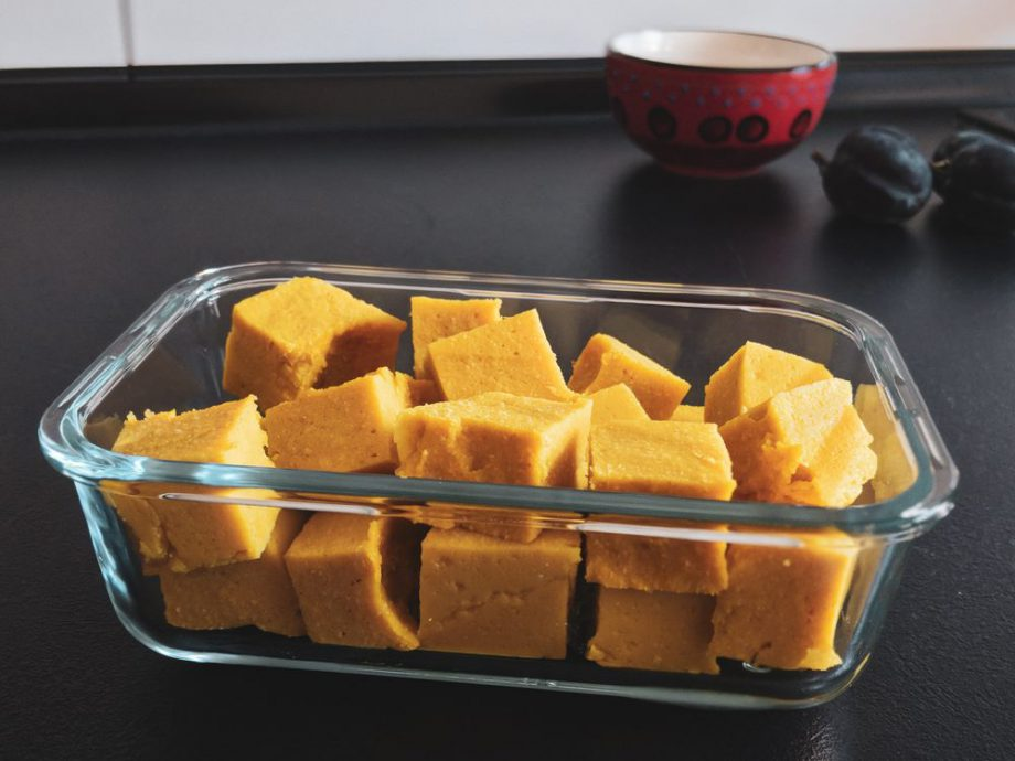 Shan-Tofu. Ne Alternative zu Tofu aus Sojabohnen.